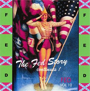 FED STORY VOL10 - VARIOUS - 1950'S COMPILATIONS CDs, FED
