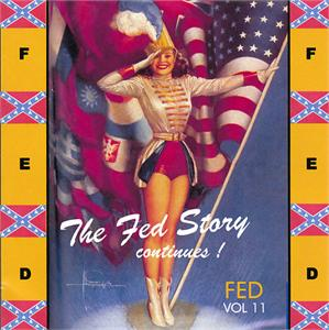 FED STORY VOL11 - VARIOUS ARTISTS - 1950'S COMPILATIONS CD, FED