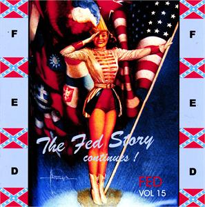 FED STORY VOL15 - VARIOUS - 1950'S COMPILATIONS CDs, FED