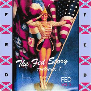 FED STORY VOL 3 - VARIOUS - 1950'S COMPILATIONS CDs, FED