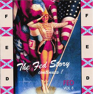 FED STORY VOL 8 - VARIOUS - 1950'S COMPILATIONS CDs, FED
