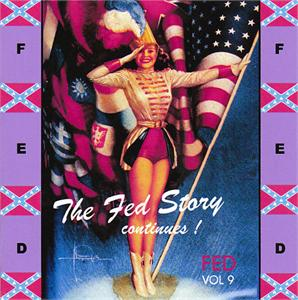 FED STORY VOL 9 - VARIOUS - 1950'S COMPILATIONS CDs, FED