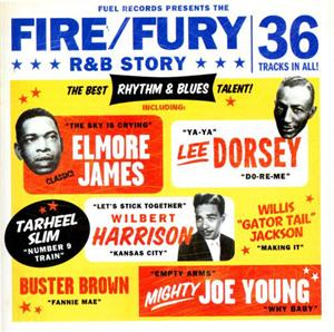 FIRE AND FURY R'N'B STORY ( 2CDS) - Various Artists - 50's Rhythm 'n' Blues CD, FUEL