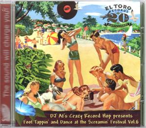 FOOTTAPPING AND DANCE VOL6 - VARIOUS - 1950'S COMPILATIONS CDs, EL TORO