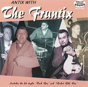 ANTIX WITH - FRANTIX - NEO ROCKABILLY VINYL, ROLLIN