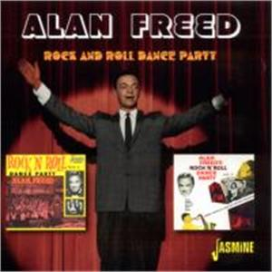 Rock and Roll Dance Party - ALAN FREED - 50's Artists & Groups CDs, JASMINE