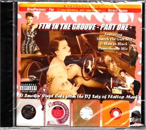 FTM IN THE GROOVE VOL1 - VARIOUS ARTISTS - 1950'S COMPILATIONS CD, FLAT TOP