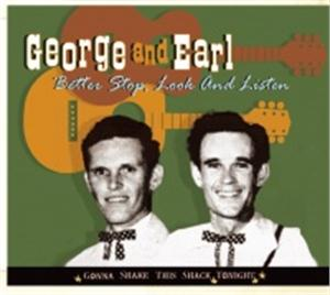 DONE GONE - GEORGE 'N' EARL - HILLBILLY CD, BEAR FAMILY