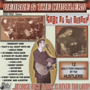 Turn Up The Volume - GEORGE & THE HUSTLERS - NEO ROCKABILLY CD, RHYTHM BOMB