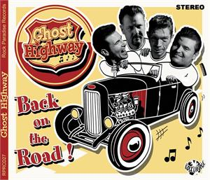 BACK ON THE ROAD - GHOST HIGHWAY - NEO ROCKABILLY CD, ROCK PARADISE