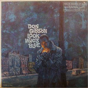 LOOK WHOS BLUE - DON GIBSON - HILLBILLY CD, RIGHTEOUS