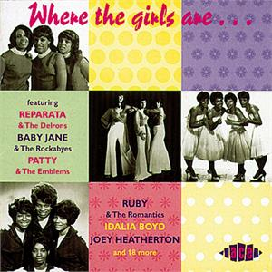 WHERE THE GIRLS ARE VOL 1 - Various Artists - 1950'S COMPILATIONS CD, ACE