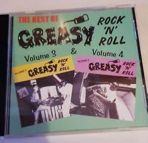 GREASY R 'n' R VOL 3 & 4 - Various Artists - 1950'S COMPILATIONS CD, BLAKEY