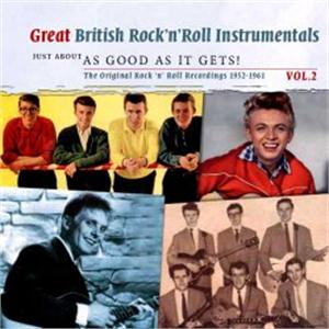 Great British Instrumentals – Just about as good as it gets!, Volume 2 - VARIOUS - BRITISH R'N'R CDs, SMITH & CO