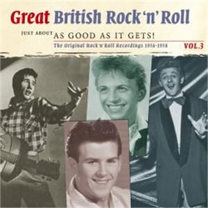 Great British Rock 'n Roll Vol 2 - Just About As Good As It Gets - Various - BRITISH R'N'R CDs, SMITH & CO