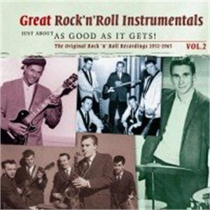 Great Rock 'n Roll Intrumentals vol 2 - Just About As Good As It Gets! - Various - INSTRUMENTALS CDs, SMITH & CO