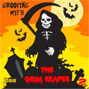 GROOVING WITH THE GRIM REAPER - VARIOUS - 1950'S COMPILATIONS VINYL, JASMINE
