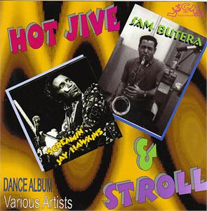 HOT JIVE & STROLL 1 - VARIOUS ARTISTS - 1950'S COMPILATIONS CD, LUCKY