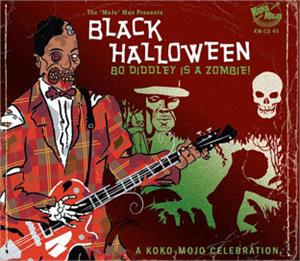 BLACK HALLOWEEN - Various Artists - 1950'S COMPILATIONS CD, ATOMICAT