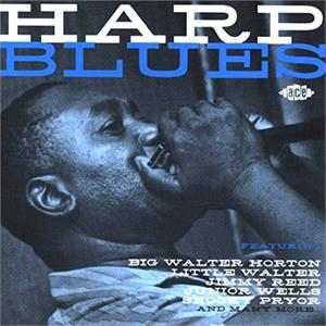 HARP BLUES - VARIOUS ARTISTS - 50's Rhythm 'n' Blues CD, ACE
