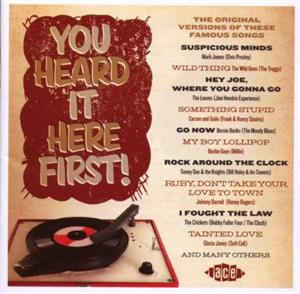 YOU HEARD IT HERE FIRST - Various Artists - 1950'S COMPILATIONS CD, ACE