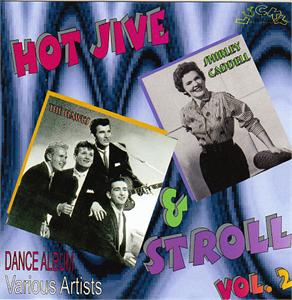 HOT JIVE & STROLL 2 - VARIOUS - 1950'S COMPILATIONS CDs, LUCKY