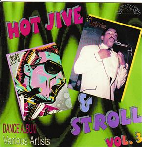 HOT JIVE & STROLL 3 - VARIOUS - 1950'S COMPILATIONS VINYL, LUCKY