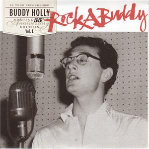 MIDNIGHT SHIFT:DON'T COME BACK KNOCKIN:MOONLIGHT BABY:DOWN THE LINE:I'M GONNA SET MY FOOT - BUDDY HOLLY - Vinyl Vinyl, EL TORO