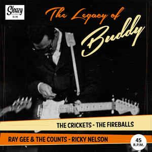 LEGACY OF BUDDY - Various Artists - SLEAZY VINYL, SLEAZY