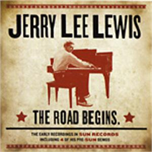 THE ROAD BEGINS - JERRY LEE LEWIS - 50's Artists & Groups CD, EL TORO