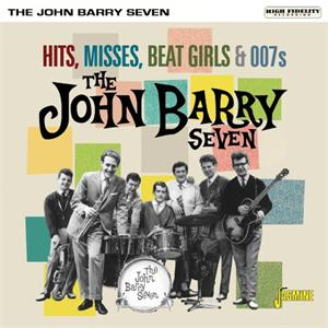 Hits, Misses, Beat Girls & 007s - John BARRY SEVEN - BRITISH R'N'R CD, JASMINE