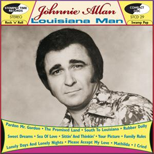 LOUISIANNA MAN - JOHNNIE ALLAN - 50's Artists & Groups CD, STOMPERTIME