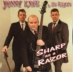 SHARP AS A RAZOR - JOHNNY KNIFE AND THE RIPPERS - New Releases CDs, PART