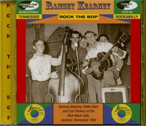 The Cat Bug Bit - Rockabilly Collection - Ramsey Kearney - 50's Artists & Groups CD, STOMPERTIME