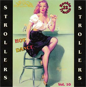LUCKY STROLLERS VOL10 - VARIOUS - 1950'S COMPILATIONS CDs, LUCKY