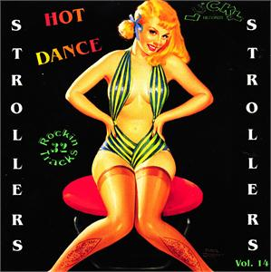 LUCKY STROLLERS VOL14 - VARIOUS - 1950'S COMPILATIONS CDs, LUCKY