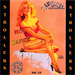LUCKY STROLLERS VOL15 - VARIOUS - 1950'S COMPILATIONS CDs, LUCKY