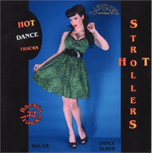 Lucky Strollers Vol18 - Various - 1950'S COMPILATIONS CDs, LUCKY