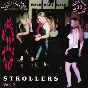 LUCKY STROLLERS 2 - VARIOUS - 1950'S COMPILATIONS CDs, LUCKY