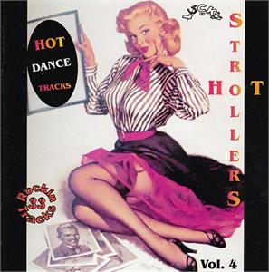 LUCKY STROLLERS 4 - VARIOUS - 1950'S COMPILATIONS CDs, LUCKY
