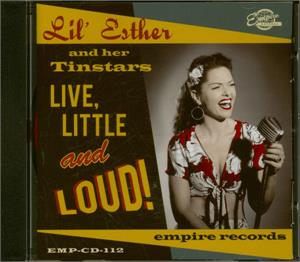Live Little & Loud - LIL ESTHER AND THE TIN STARS - NEO ROCKABILLY CD, EMPIRE