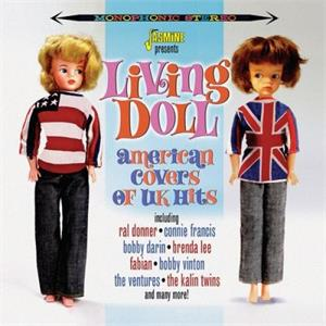 Living Doll - American Covers of UK Hits - Various Artists - 1950'S COMPILATIONS CD, JASMINE