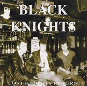 Lost Knights Return - Black Knights - TEDDY BOY R'N'R CDs, ENVIKEN