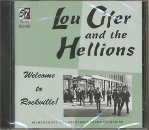 Welcome To Rockville - Lou Cifer & The Hellions - TEDDY BOY R'N'R CD, 57 RECORDS