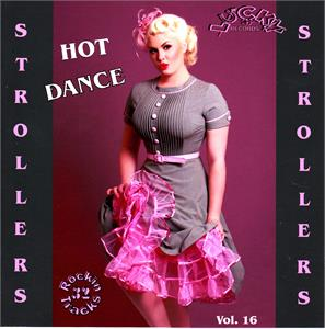 LUCKY STROLLERS VOL16 - VARIOUS - 1950'S COMPILATIONS CDs, LUCKY