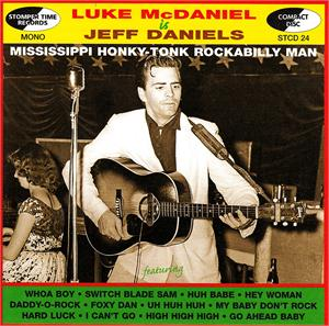 LUKE McDANIEL IS JEFF McDANIEL - LUKE McDANIEL - 50's Artists & Groups CDs, STOMPERTIME