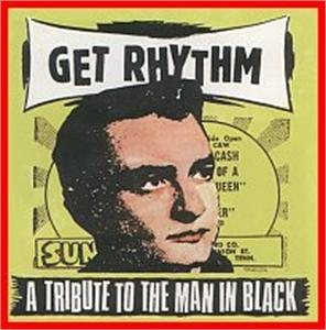 TRIBUTE TO THE MAN IN BLACK - VARIOUS - NEO ROCKABILLY VINYL, RAUCOUS