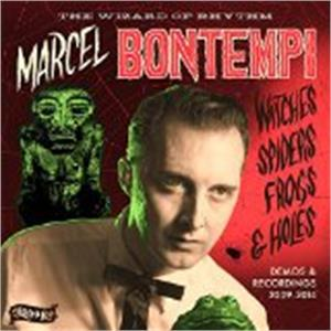 WITCHES, SPIDERS, FROGS AND HOLES - MARCEL BONTEMPI - NEO ROCKABILLY VINYL, STAG-O-LEE