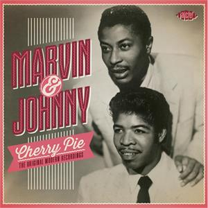 CHERRY PIE - MARVIN AND JOHNNY - DOOWOP CD, ACE