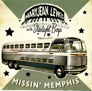 MISSIN' MEMPHIS - MARYJEAN LEWIS - NEO ROCKABILLY VINYL, 8 BALL ANGEL